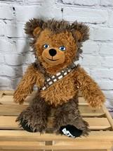 "Star Wars Chewbacca 18"" Build A Bear Plush Wookie  - $20.00"