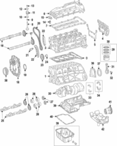 Genuine Mercedes-Benz Vibration Damper 651-030-05-03 - $483.76