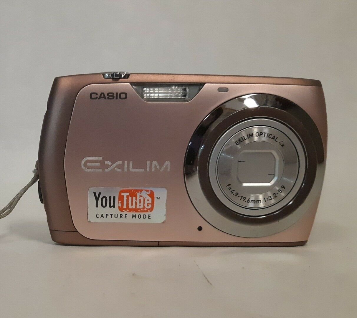 Primary image for Casio EXILIM 12.1 MP Digital Camera You Tube Capture Mode Pink Untested