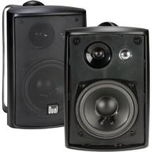 Dual Electronics LU43PB 3-Way High Performance Outdoor Indoor Speakers w... - $35.17