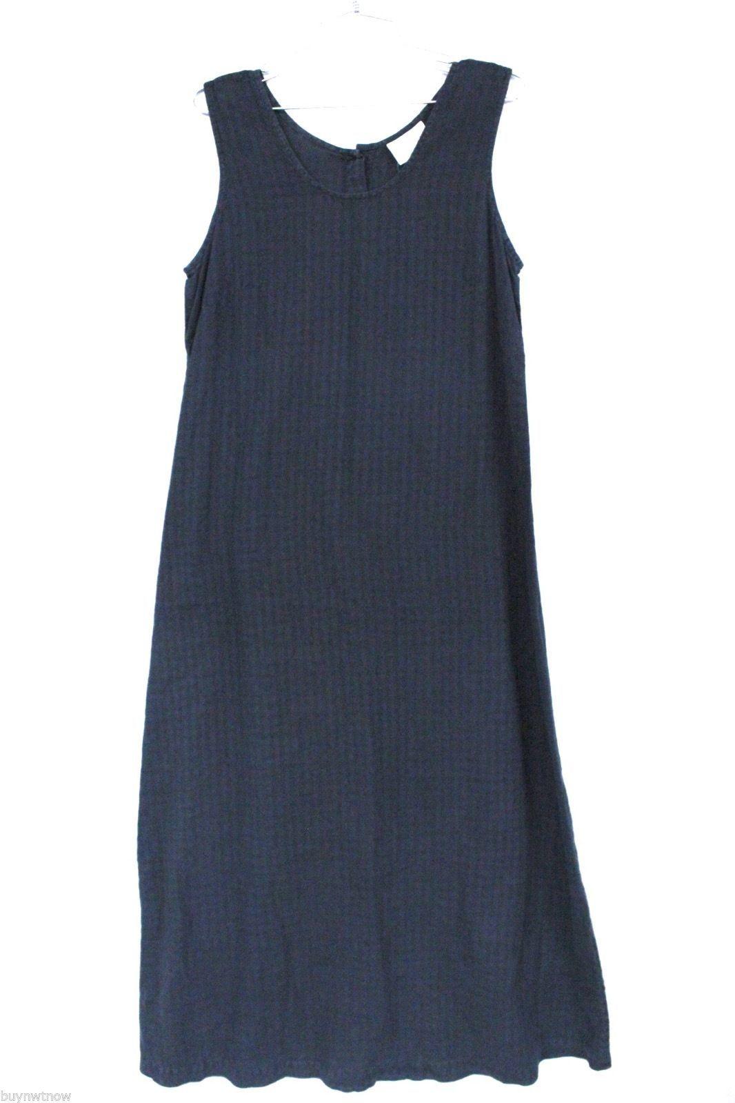 Fresh Produce Tank Maxi Dress & Jacket Blouse Top Black Windowpane Print  M image 6