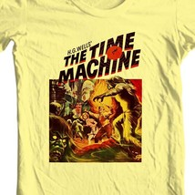 The Time Machine T-shirt vintage Sci Fi movie free shipping 100% cotton image 1