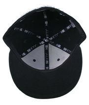 Dissizit California Skating Bear Sk8 Black W New Era 59FIFTY Fitted Baseball Hat image 7