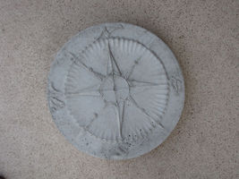"2+1 Free Compass Stepping Stone Concrete Molds 18""x2"" Make For About $2.00 Each image 3"