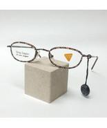 Jimmy Crystal New York GL695 Swarovski Reading Glasses Black Colorado Topaz - $89.99