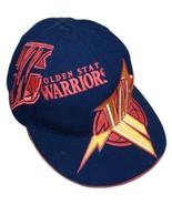 Signed Monta Ellis Golden State Warriors Lightning Bolt adidas Fitted Ha... - $89.99