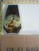 FREE US SHIP OK Touch Lamp Replacement Glass Panel Jesus with Children 6... - $9.75