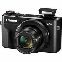 Canon G7X Mark II PowerShot 20.1MP Digital Camera Mark2 MK2 (Black) image 2