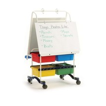 Copernicus Primary School Regal Reading Writing Center with Storage Bins - $335.04