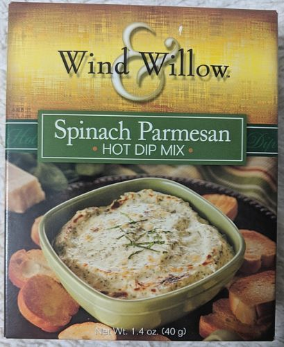Wind And Willow 4222 Spinach Parmesan Hot Dip Mix Package