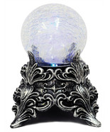 Light-up LED MYSTIC CRYSTAL BALL Witch Fortune Teller Halloween Prop Dec... - $28.39