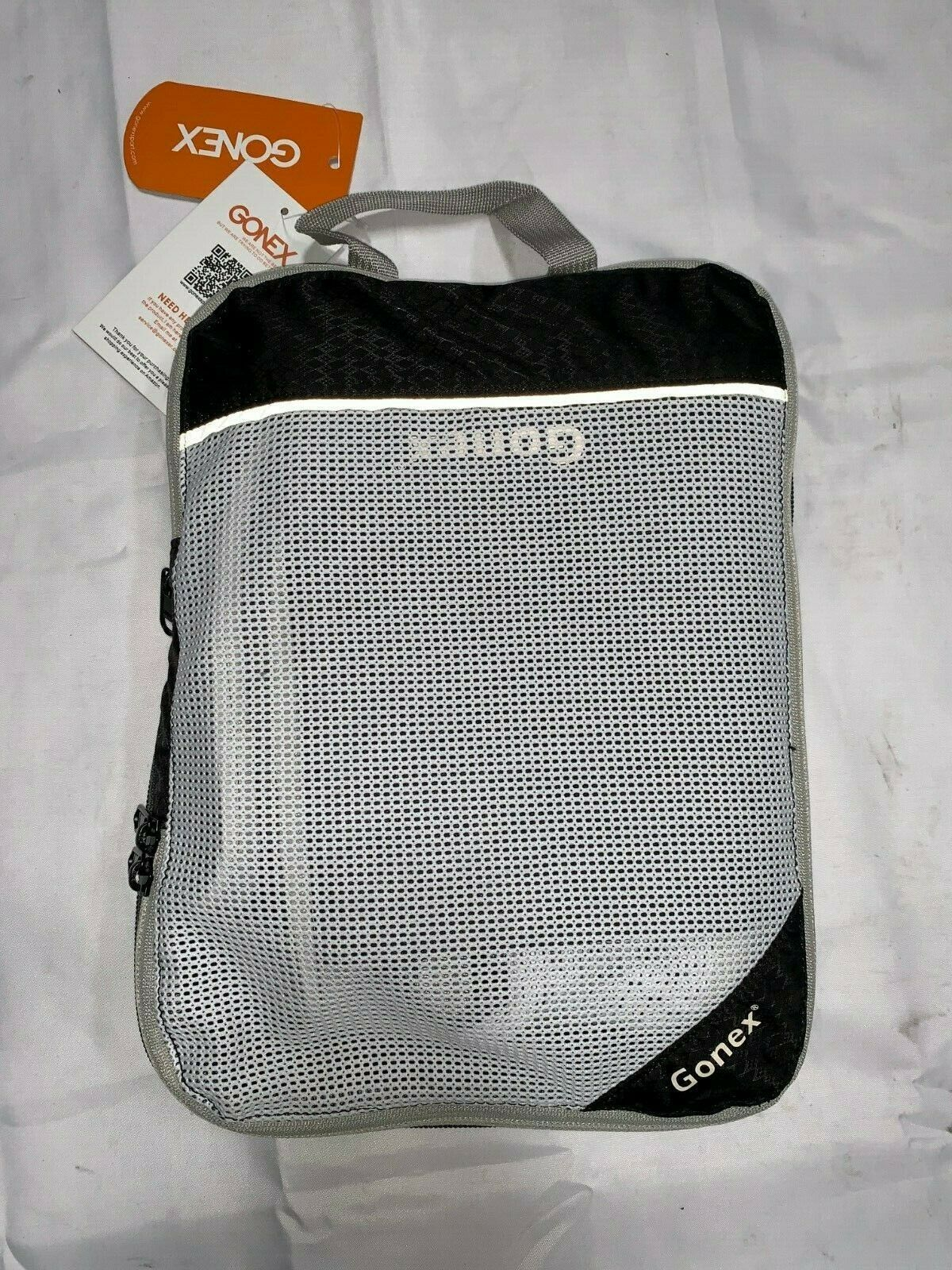 Gonex Packing Series First Grade Black and White Bag