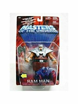 Ram Man Masters of the Universe MOTU Action Figure Mattel 2002 NIB He-Man  - $49.49