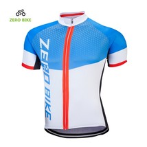 ZEROBIKE Men's Short Cycling Jersey Breathable Quick Dry Sportwear Bicycle Cloth - $15.83