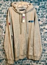 Dunbrooke NFL Carolina Panthers Gray Pullover Hoodie Sweatshirt Size Lar... - $14.96