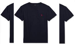 Polo Ralph Lauren Men's Core Medium-Fit V-Neck Cotton Jersey T-Shirt,  S, $39 - $24.74