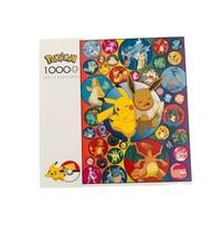 Buffalo Games Pokemon 1000 Piece Jigsaw Puzzle POKE BUBBLE PIKACHU EEVEE... - $39.99