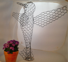 Hummingbird Topiary Frame - $65.00