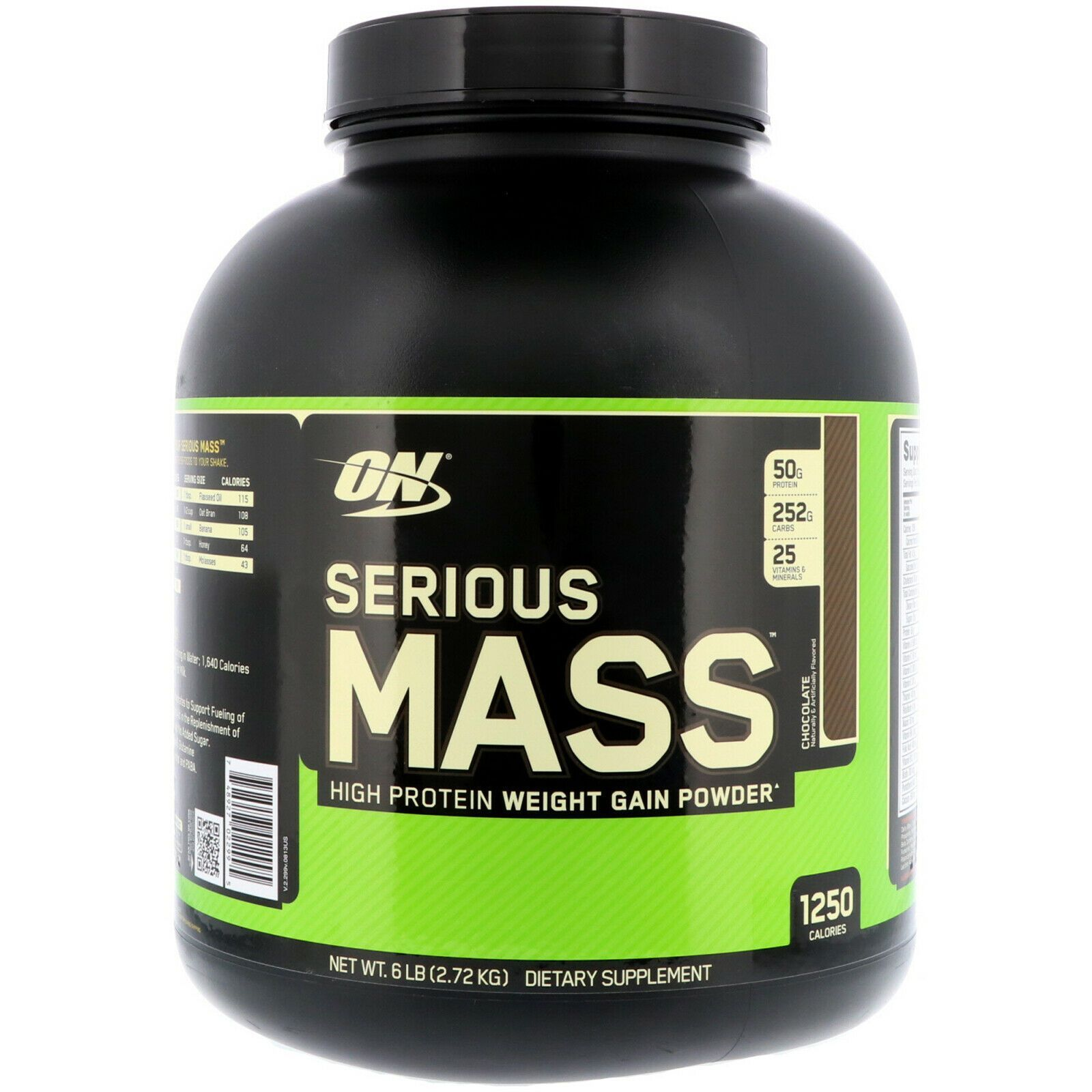 Primary image for Optimum Nutrition, Serious Mass, High Protein Weight Gain Powder, Chocolate 6 lb