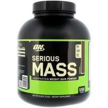 Optimum Nutrition, Serious Mass, High Protein Weight Gain Powder, Chocolate 6 lb - $69.99+