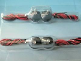 "Atlas  # Rock Island Hobby # RIH510 Peel. Stick. ""n Light 4 Bulbs each 11"" wire image 1"
