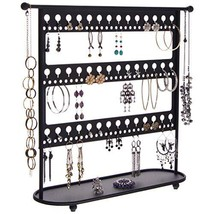 Angelynn's Large Earring Holder Organizer Hanging Jewelry Tree Stand Nec... - $183.21
