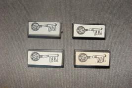 Dark Tower Milton Bradley 1981: Set of 4 Silver Keys - $16.00