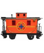 Echo Toys Rio Grande Caboose G Scale Gauge Train Orange Red Plastic Toy ... - $29.00