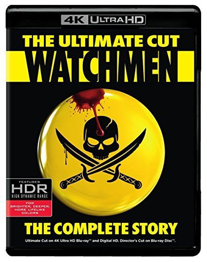 Watchmen Ultimate Cut (4K Ultra HD + Blu-ray + Digital)