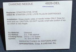 NEW NEEDLE STYLUS FOR Stanton D72E D73E Stanton L727E L737E 4826-DEL image 4