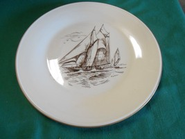 "Beautiful Collectible LENOX ""Special"" Gold Trim SAILBOAT Collector Plate - $15.51"