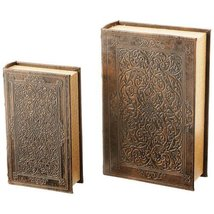 Gfbook2 Wholesale 2pc Faux Book Safe Set Gnom Figure Model Decor Decorat... - $49.99