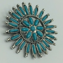 Vintage Faux Turquoise Brooch Pin - $17.82