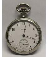1908 Elgin Pocket Watch 15 Jewel Model 5 Grade 317 Size 18s Ticks - $133.65
