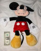 """Genuino Disney Store Mickey Mouse 19"""" Peluche Coleccionable, U. S. A. - $16.54"""