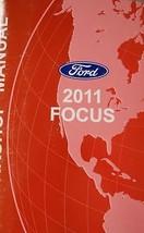 2011 Ford Focus Service Shop Repair Workshop Manual Oem Factory Dealership - $39.55