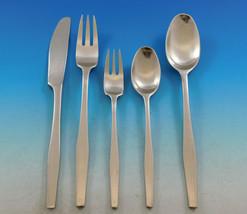 Variation V by Dansk Stainless Steel Flatware Set Service 44 pieces Vintage - $1,215.00