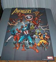Marvel Avengers poster 1:Spider-man/Hulk/Thor/Wolverine/Captain America/... - $29.69