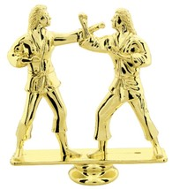 Female Double Karate Trophy AWARD School SPORT Tournament Low Shipping #... - $3.99