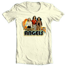 Charlies angels graphic tee farah faucet 80 s i love my angels tshirt thumb200