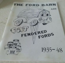 The Ford Barn fat fender Ford's catalog Book 1935-48 Brochure - $4.95