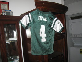 NY JETS BRETT FARVE YOUTH  AUTHENTIC HOME JERSEY(S-8)HALL OF FAME!  - €8,74 EUR