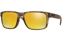 Neuf Oakley Urban Jungle Collection Holbrook Mat Sépia W/24K Iridium 910... - $176.34