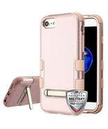 For APPLE iPhone 8/7 Textured Rose Gold/Rose Gold TUFF Hybrid Case Prote... - $11.39