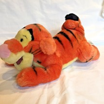 Tigger Winnie the Pooh Laying Plush Tiger Stuffed Animal Disney Store Pa... - $12.86