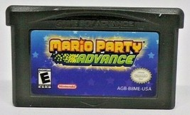 Mario Party Advance (Nintendo Game Boy Advance} GBA Tested  Cartridge Only - $17.82