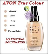 AVON True Colour Calming Effects Mattifying Foundation 30ml - $10.50