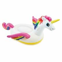 "Intex Unicorn Inflatable Ride-On Pool Float, 79"" X 55"" X 38"" - $16.82"