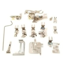 Greist Rotary Sewing Machine Attachments Ruffler Hemmer Binder Sew  - $12.86
