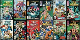 Saga of the Sub-Mariner Comic Set 1-2-3-4-5-6-7-8-9-10-11-12 Lot Namor Avengers - £40.19 GBP